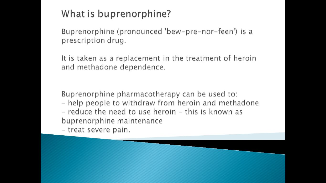 buprenorphine-what-is-it?